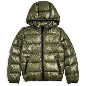 Herno Boys' Hooded Down Puffer Coat